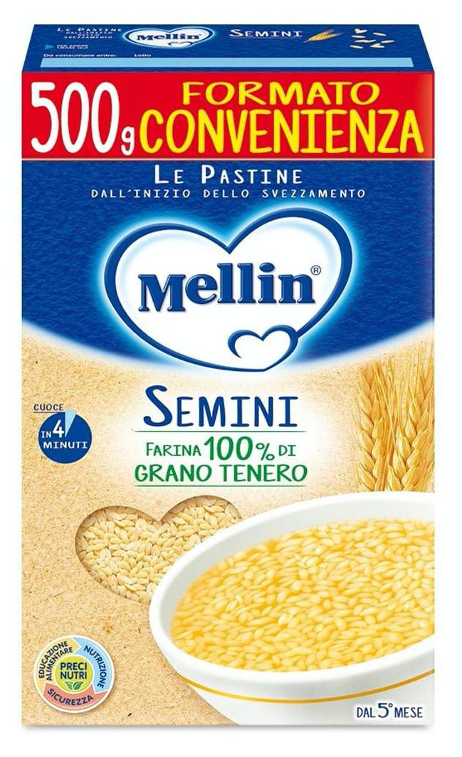 Pastina Semini Mellin - 500 g