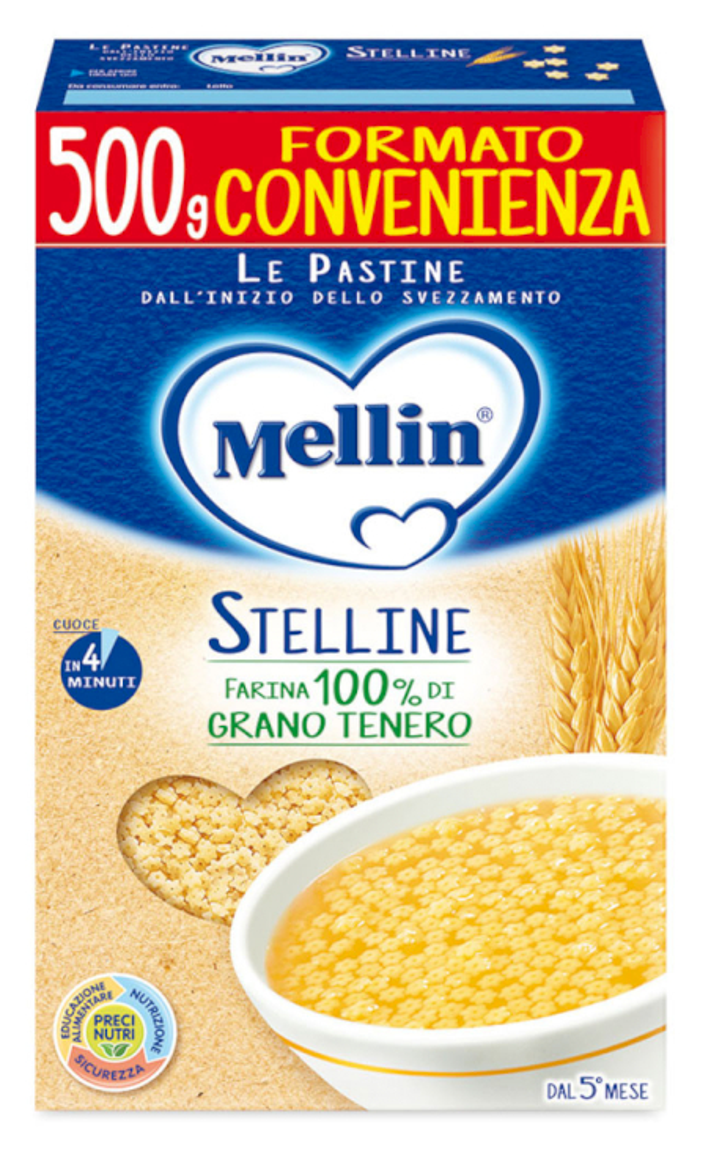 Pastina Stelline Mellin - 500 g