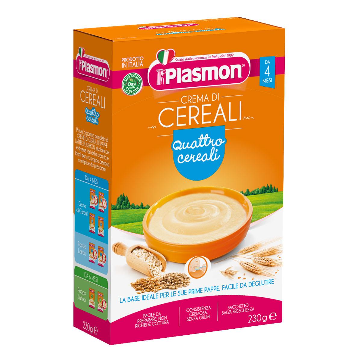 Crema ai 4 Cereali Plasmon
