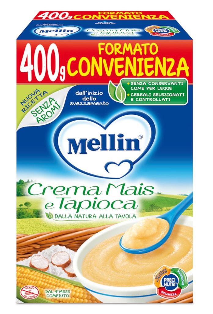 Crema Mais e Tapioca Mellin - 400 g