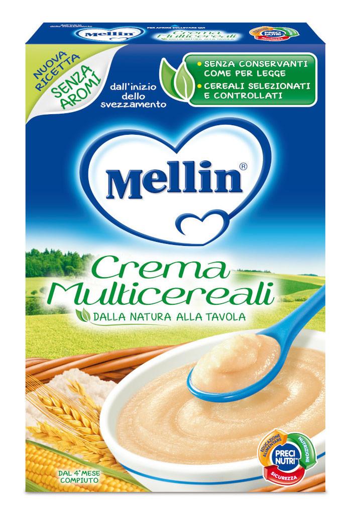 Crema Multicereali Mellin - 200 g
