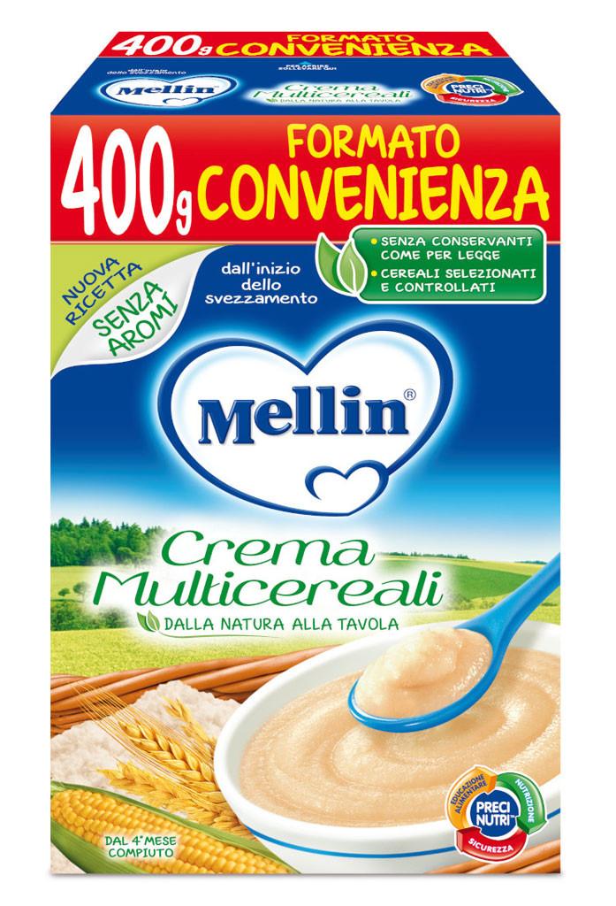 Crema Multicereali Mellin - 400 g