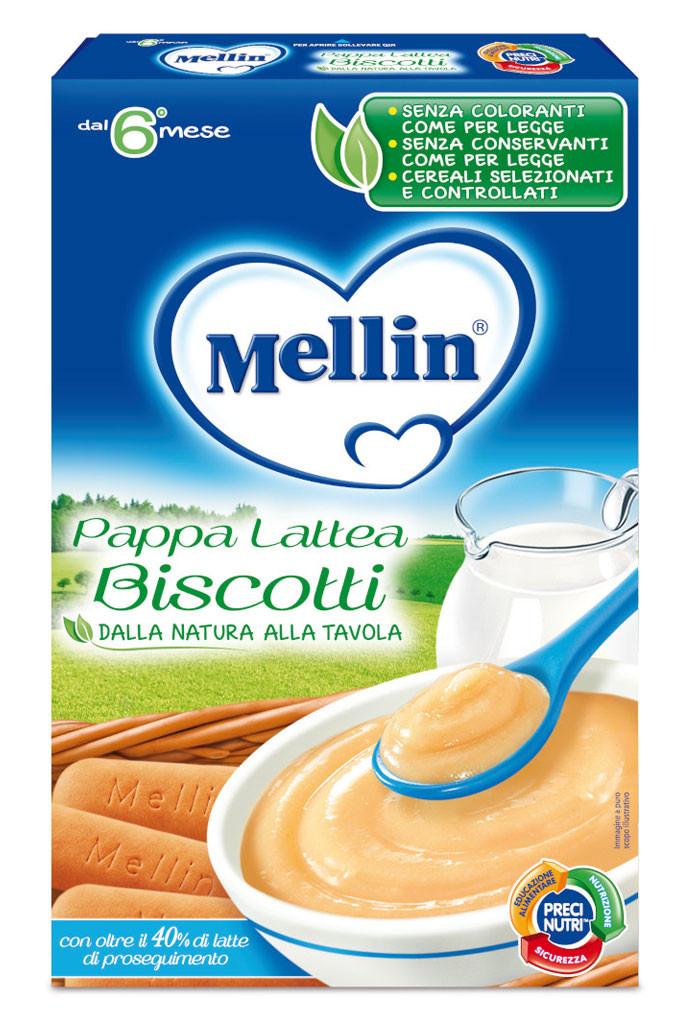 Pappa Lattea Biscotti Mellin