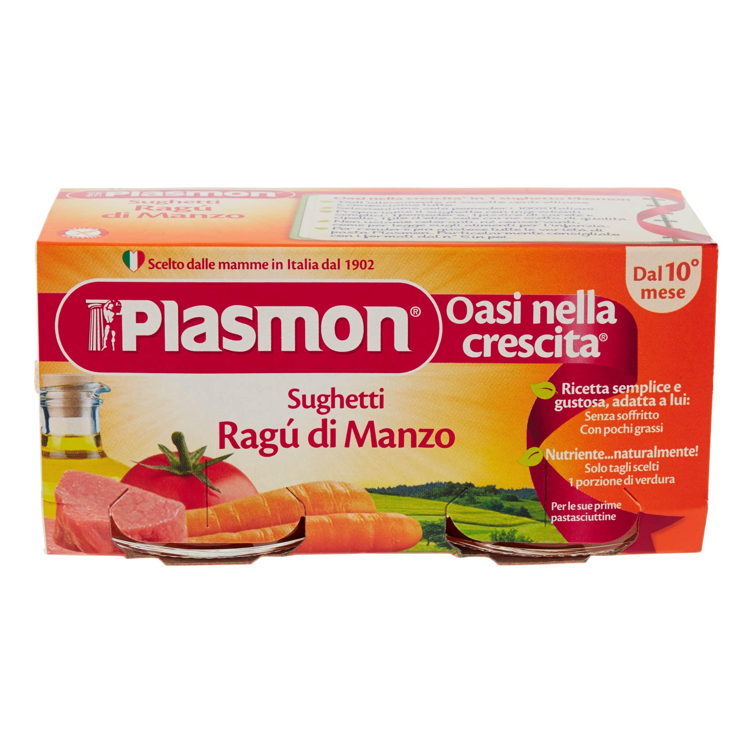 Sughetto al Ragù di Manzo Plasmon