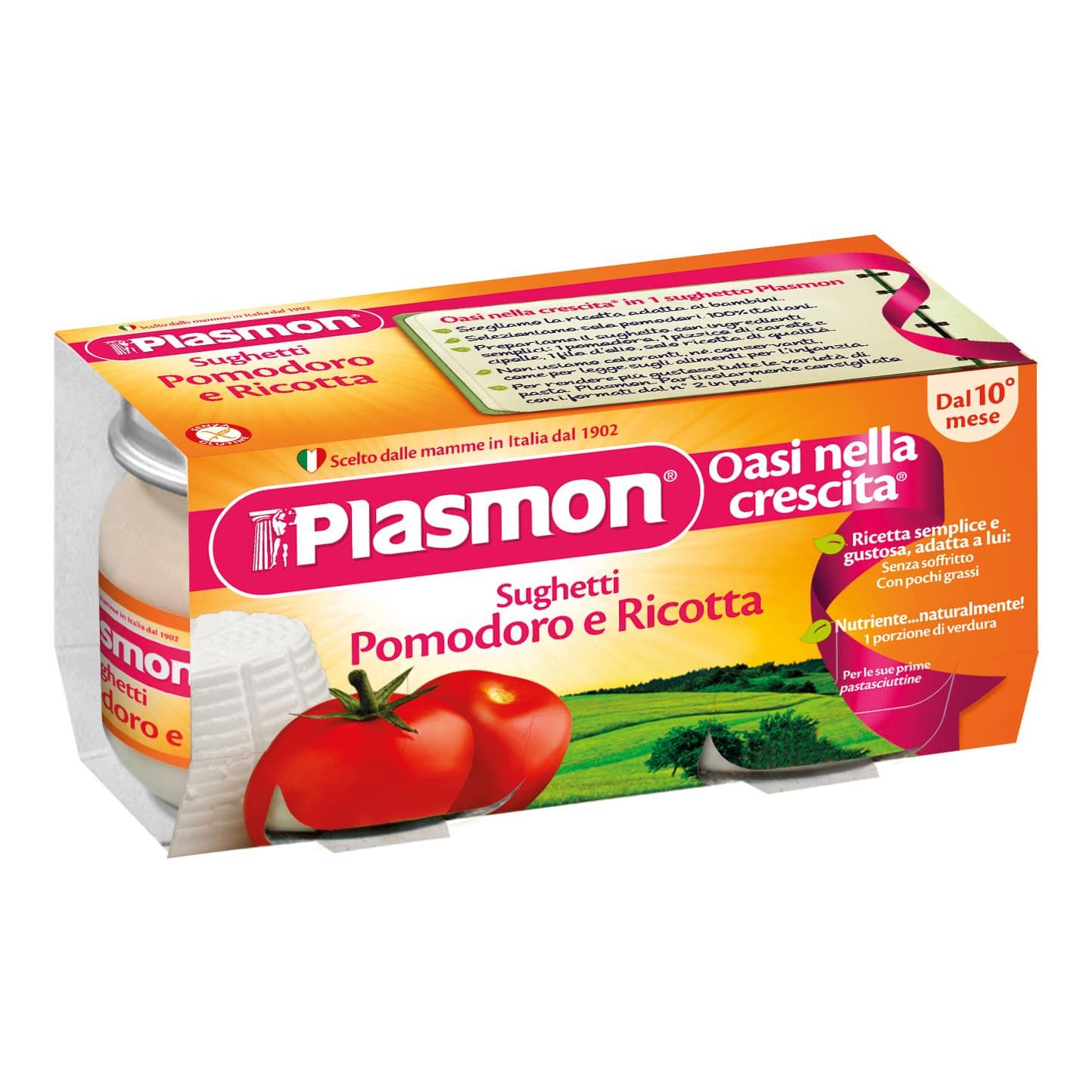 Sughetto al Pomodoro e Ricotta Plasmon