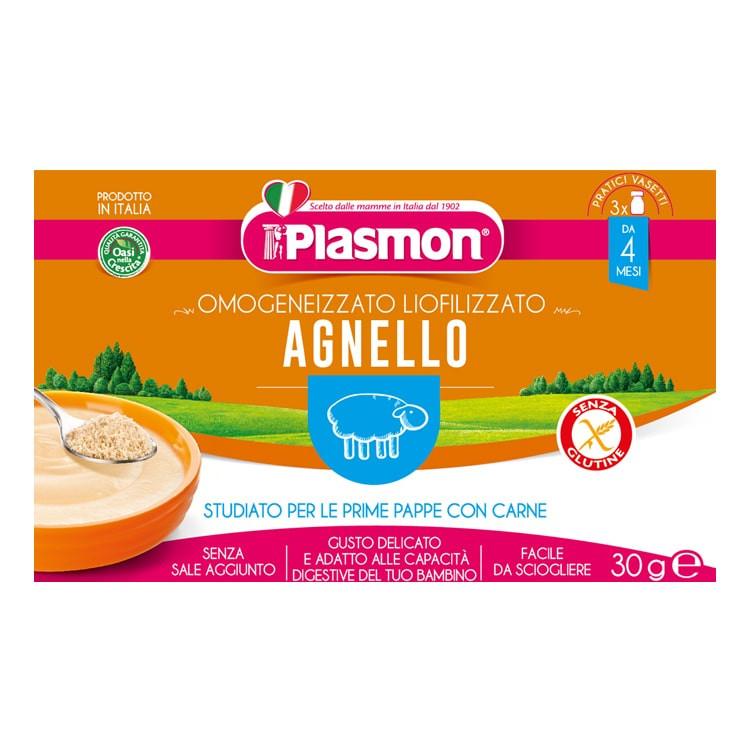 Liofilizzato Agnello Plasmon