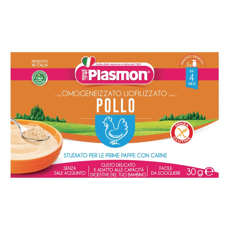 Liofilizzato Pollo Plasmon