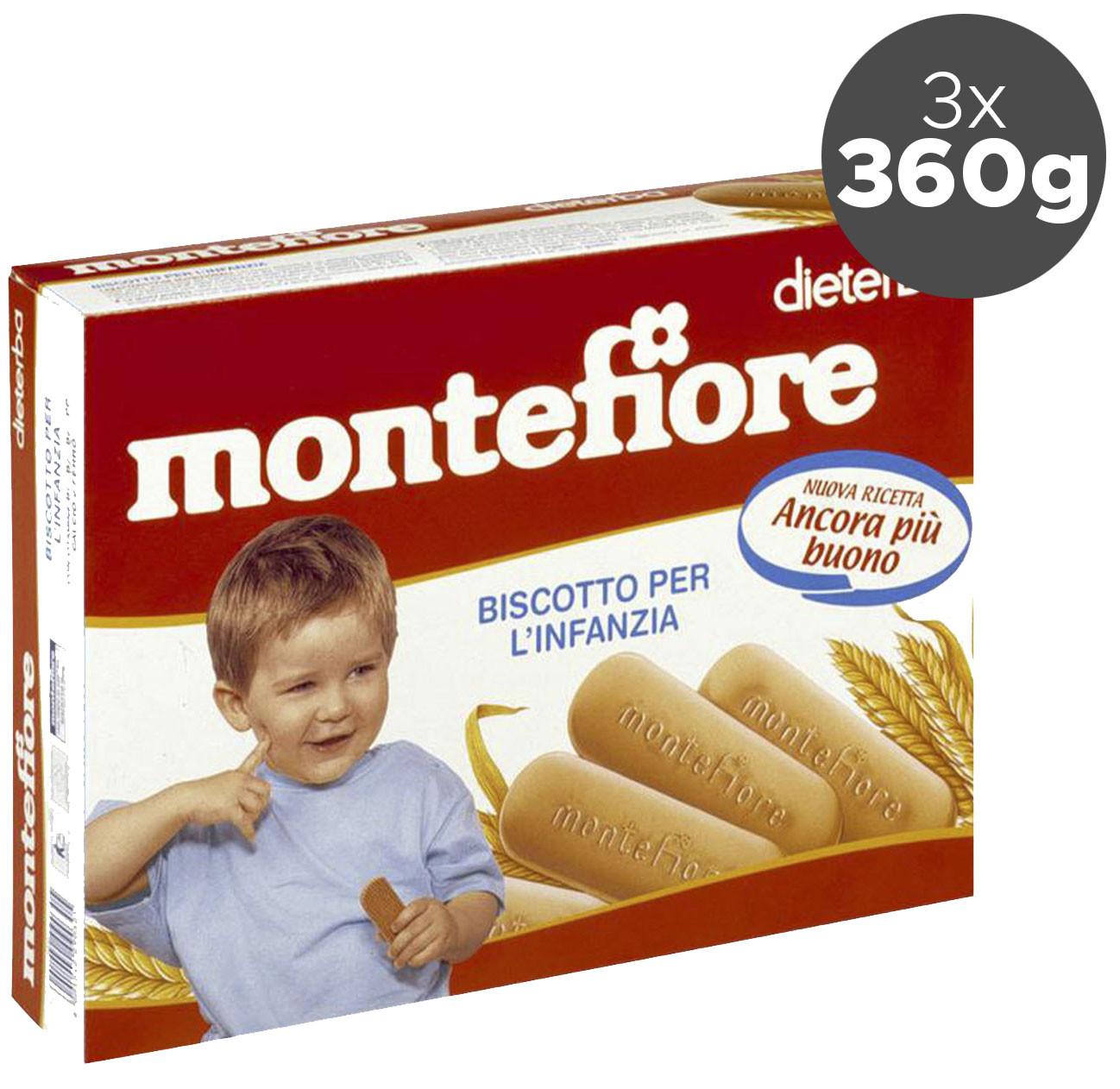 Biscotti Montefiore - 3 x 360 g