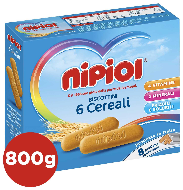 Biscottini 6 Cereali Nipiol