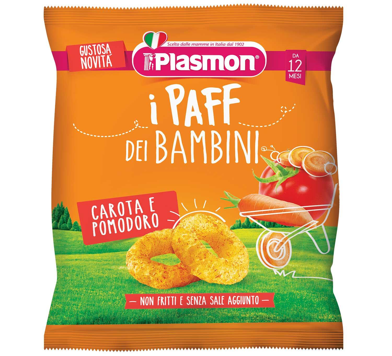 I Paff dei Bambini Plasmon - Carota e pomodoro