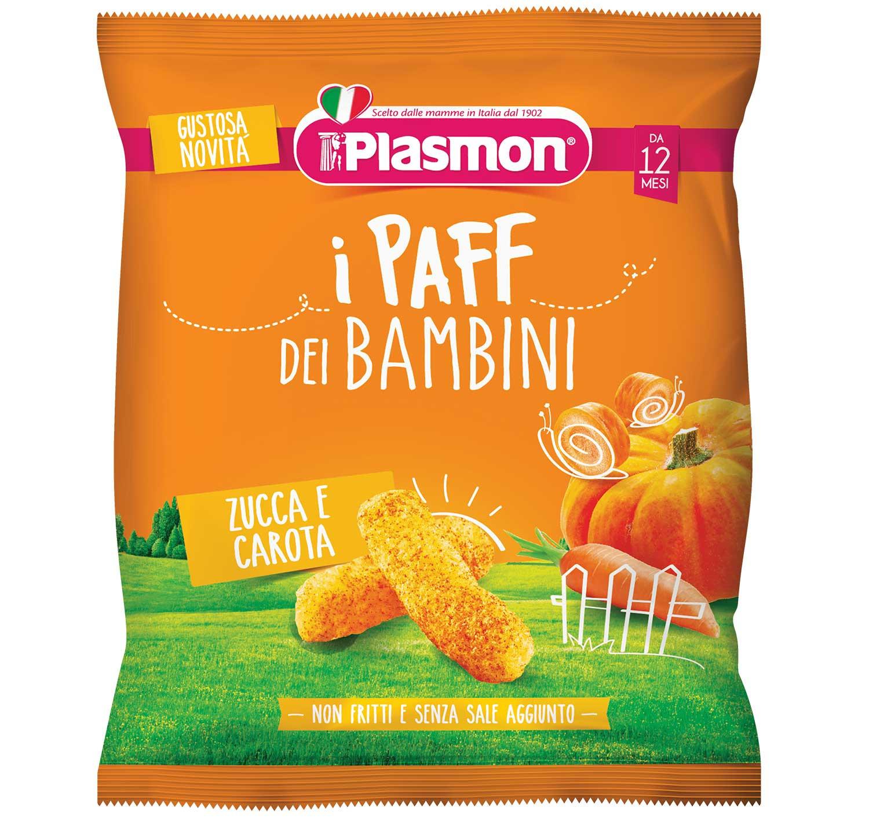 I Paff dei Bambini Plasmon - Zucca e carota