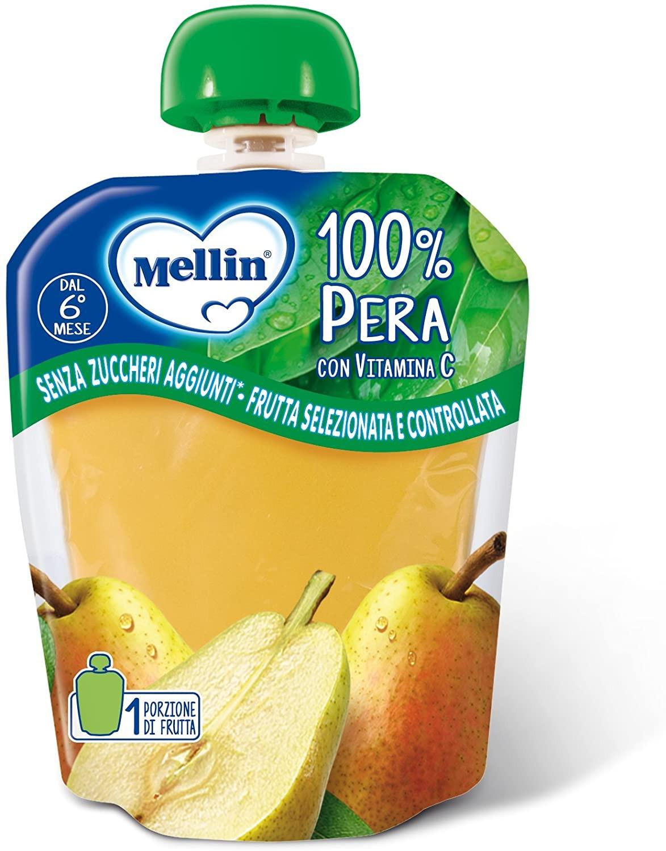 Merenda 100% Frutta Mellin - Pera