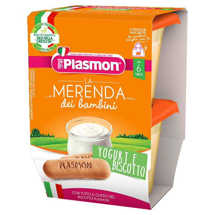 La Merenda dei Bambini Plasmon - Yogurt e Biscotto