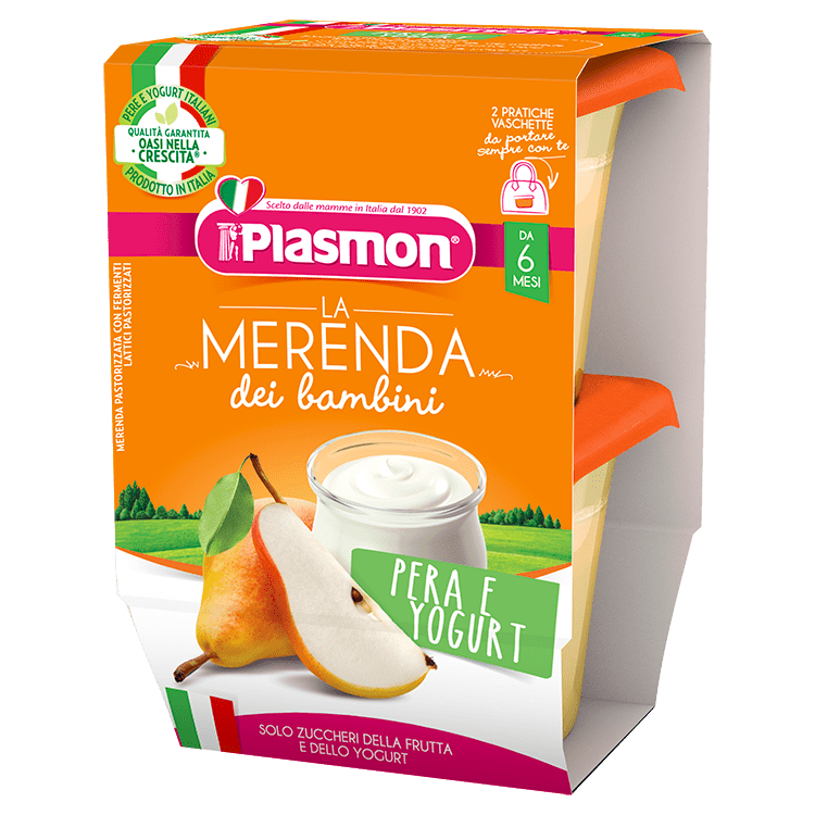 La Merenda dei Bambini Plasmon - Pera e Yogurt