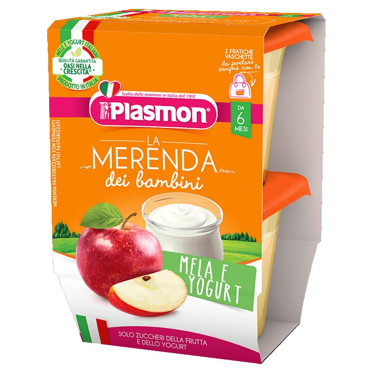 La Merenda dei Bambini Plasmon - Mela e Yogurt
