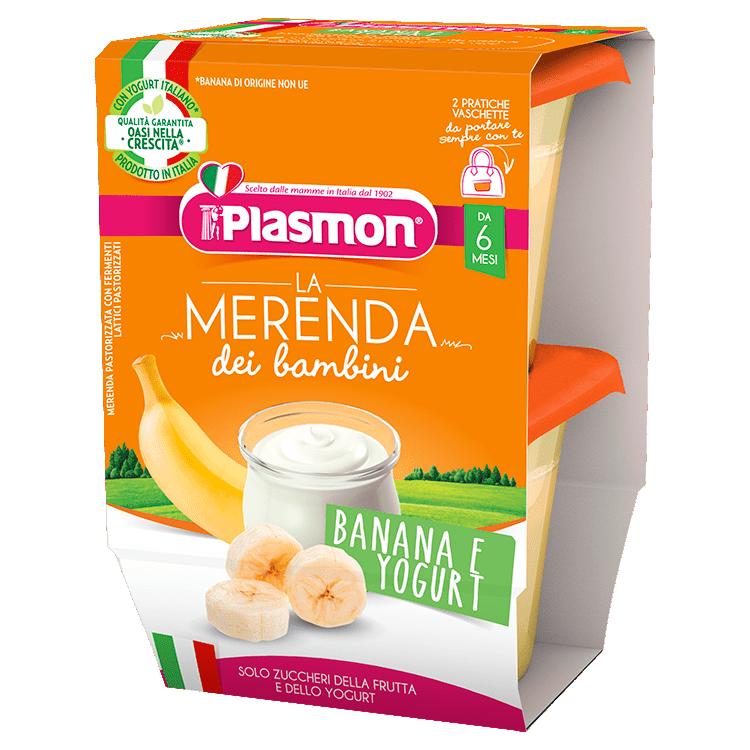 La Merenda dei Bambini Plasmon - Banana e Yogurt