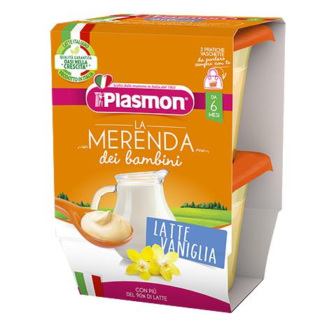La Merenda dei Bambini Plasmon - Latte alla Vaniglia