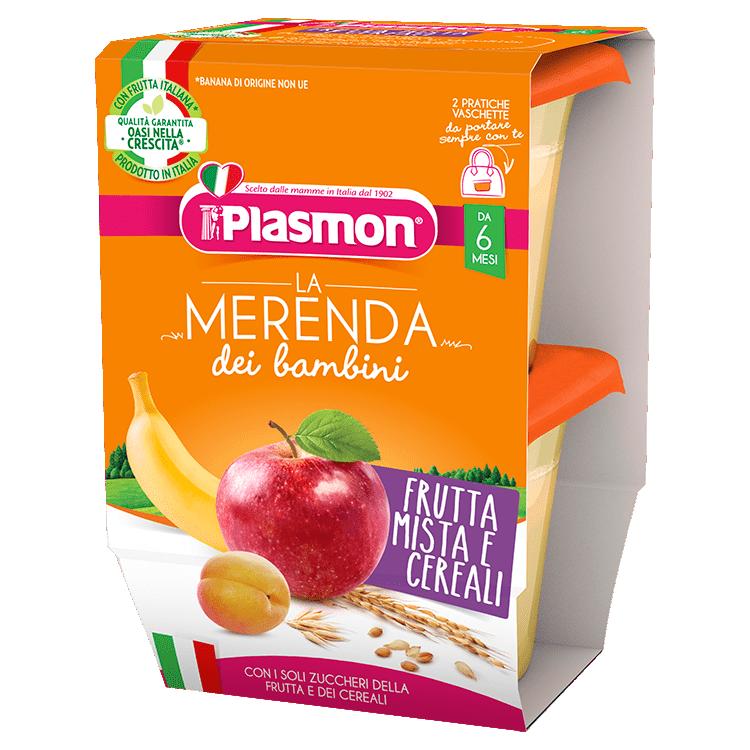 La Merenda dei Bambini Plasmon - Frutta Mista e Cereali
