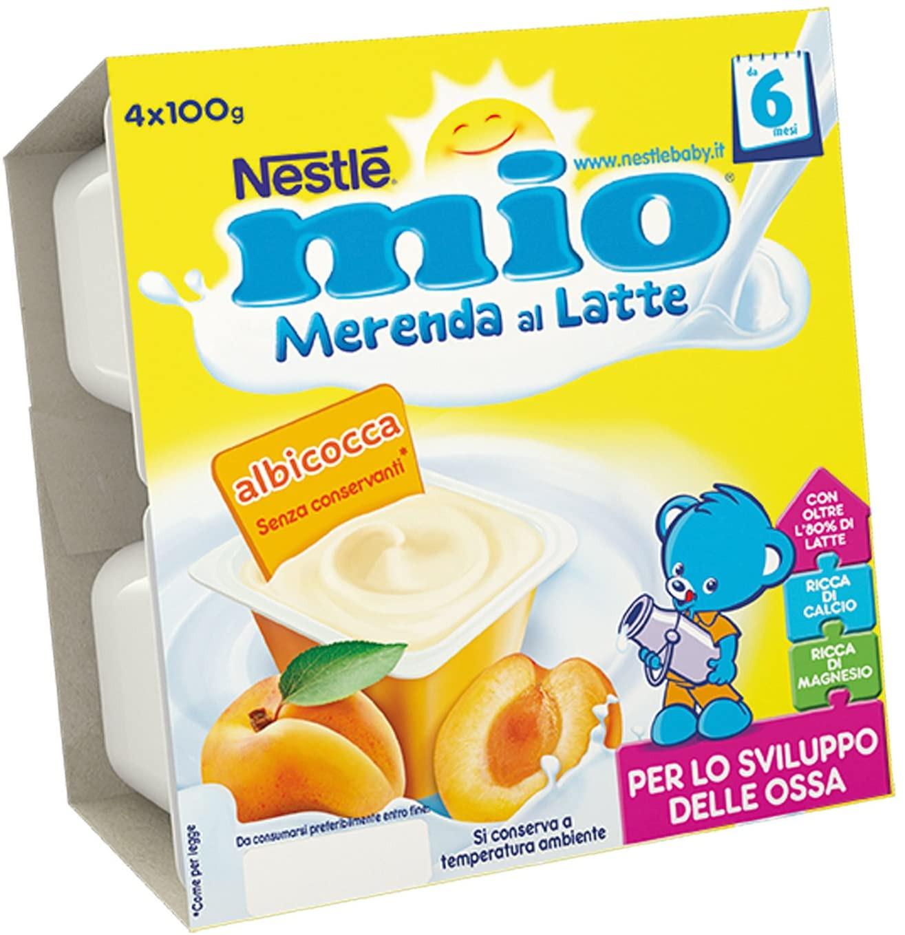 Mio Merenda al Latte - Albicocca