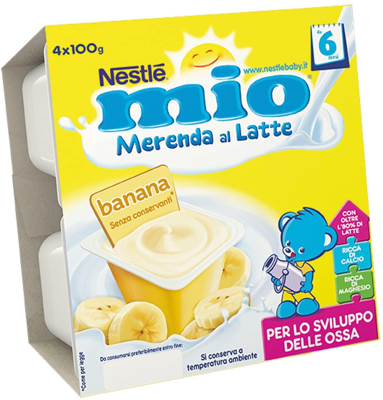 Mio Merenda al Latte - Banana