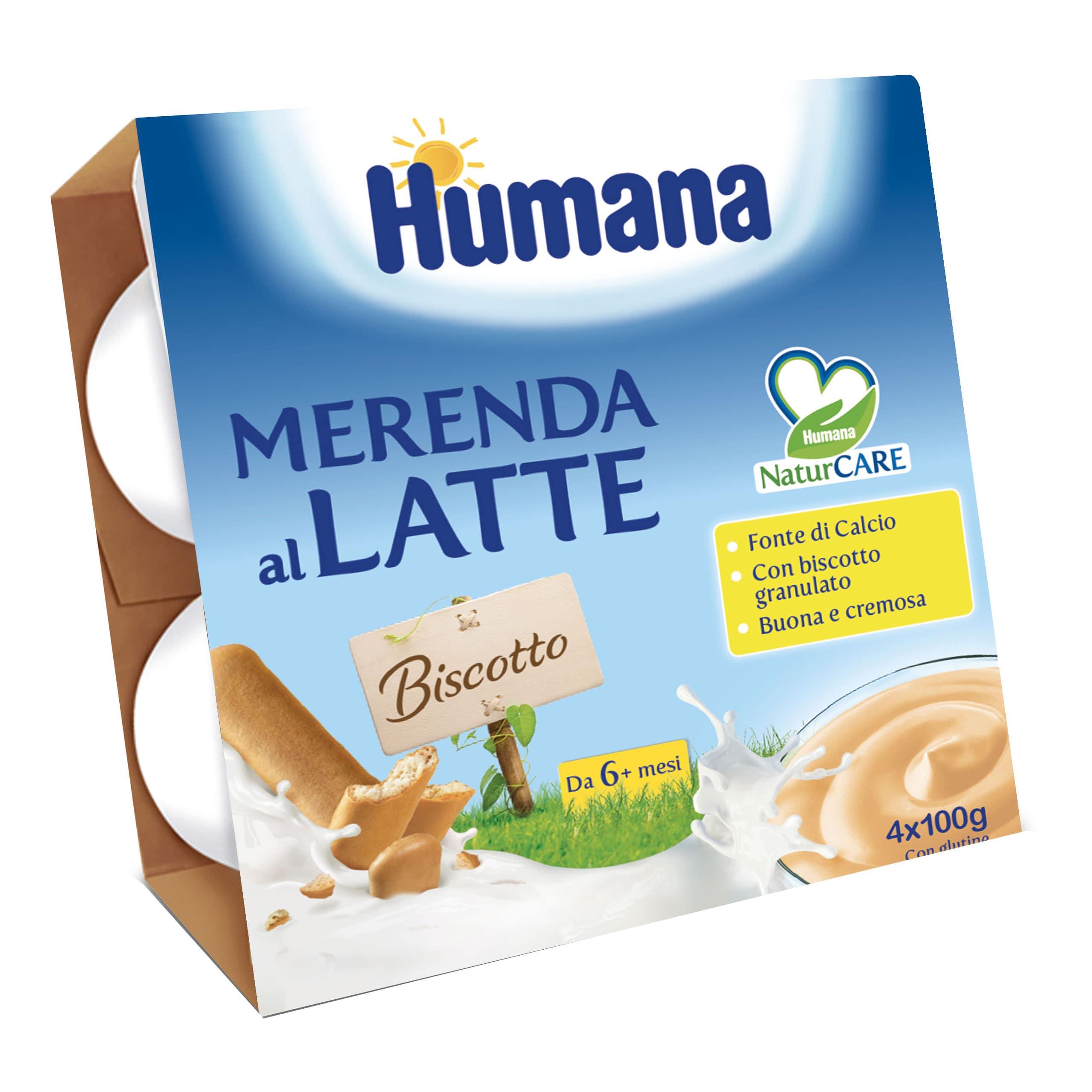 Merenda al Latte Humana - Biscotto