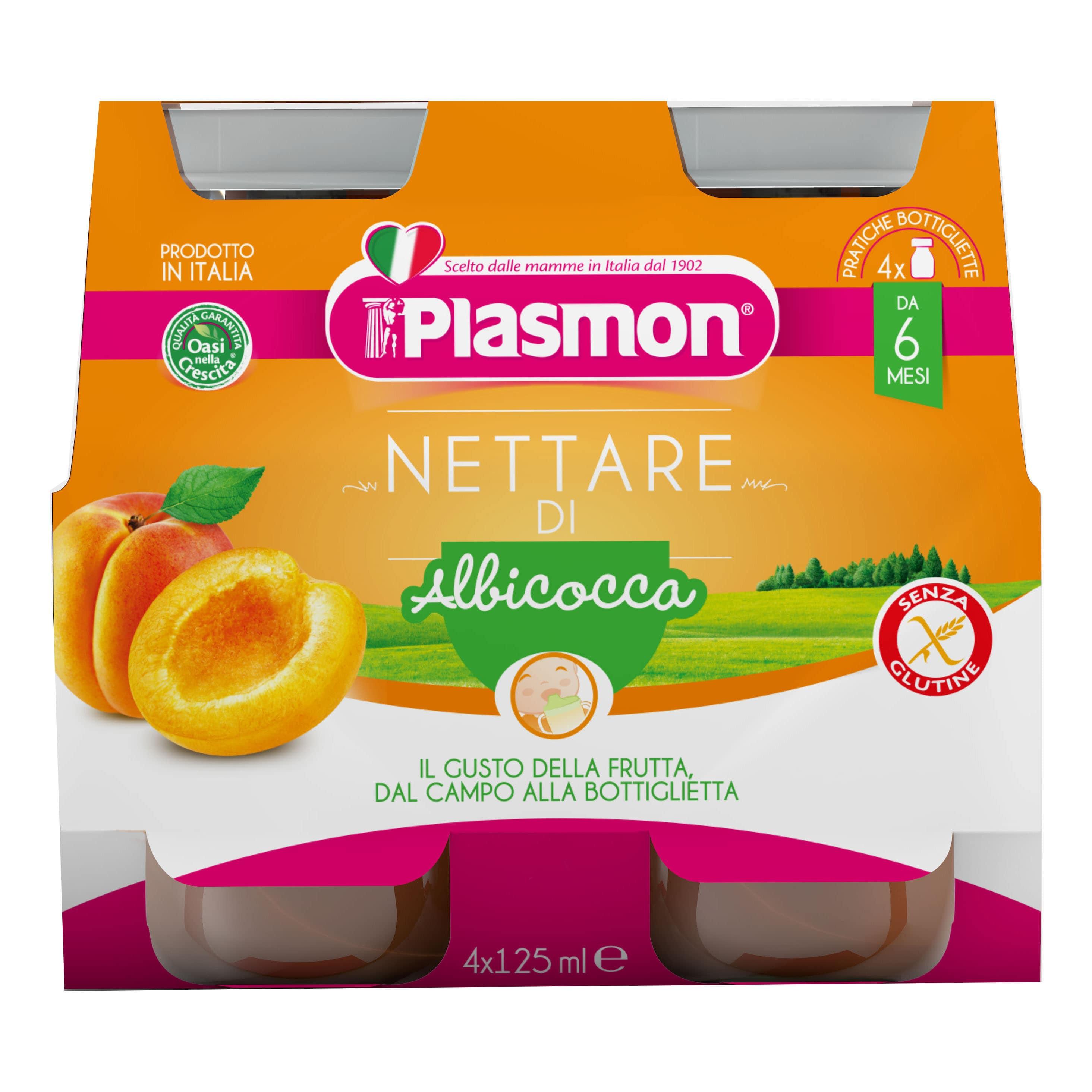 Nettare di Albicocca Plasmon