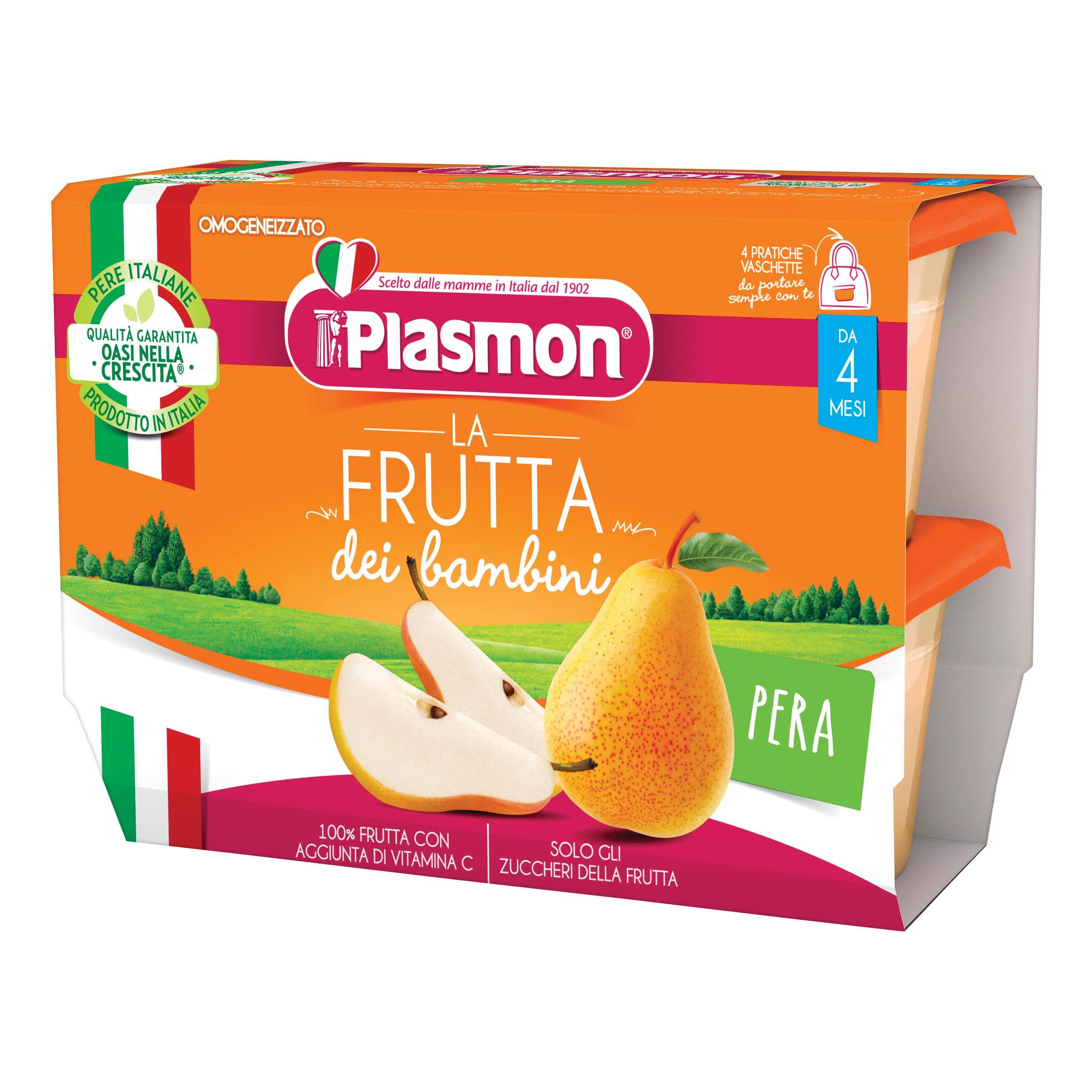 La Frutta dei Bambini Plasmon - Pera
