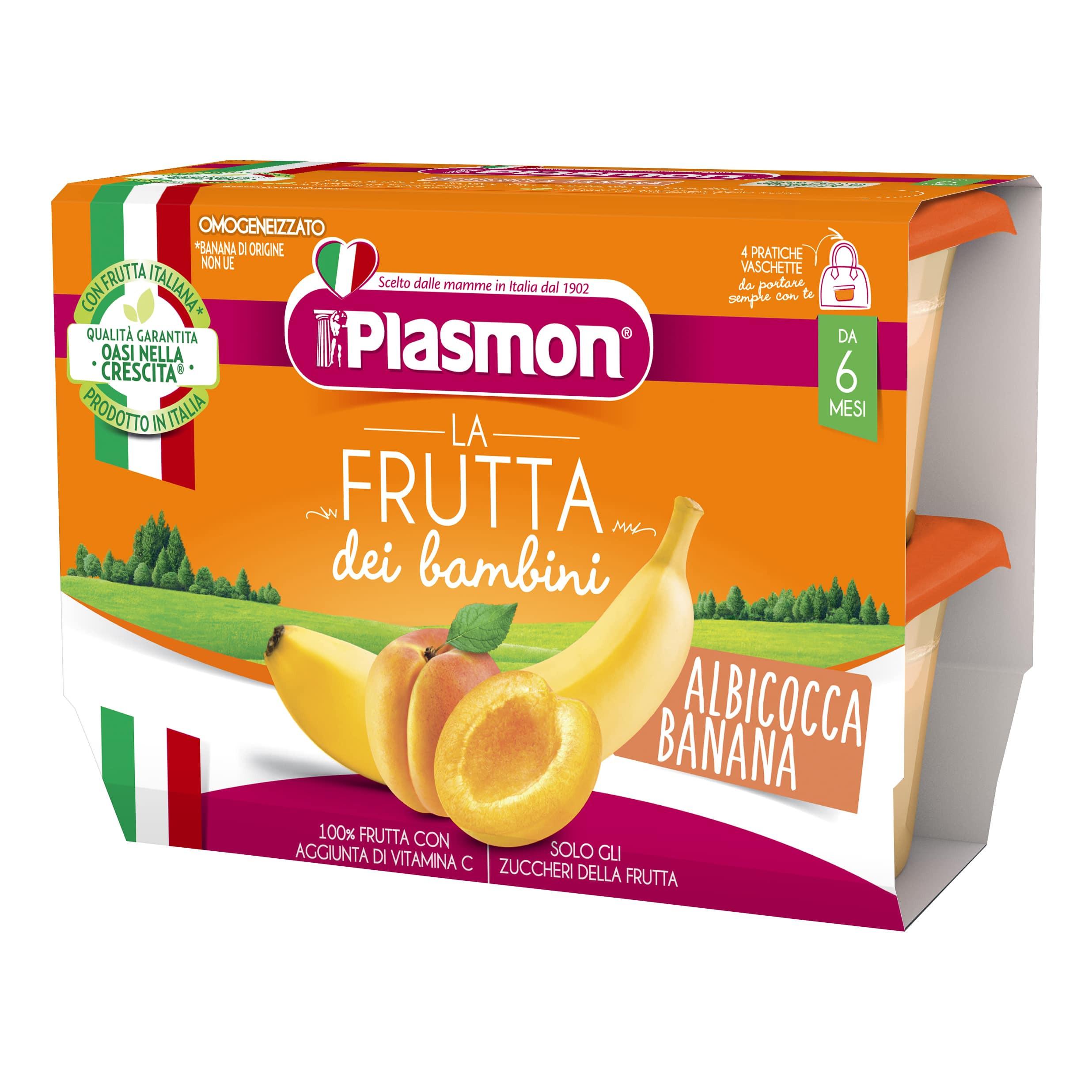 La Frutta dei Bambini Plasmon - Albicocca e Banana