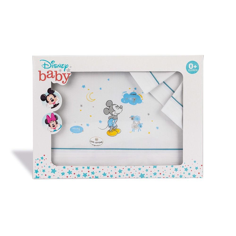 Set de Linge pour Lit bébé Disney Mickey