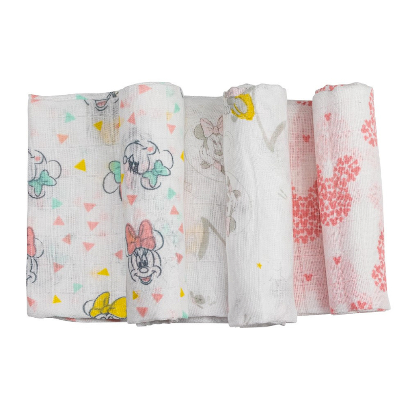 Set 3 Muselina Interbaby Minnie