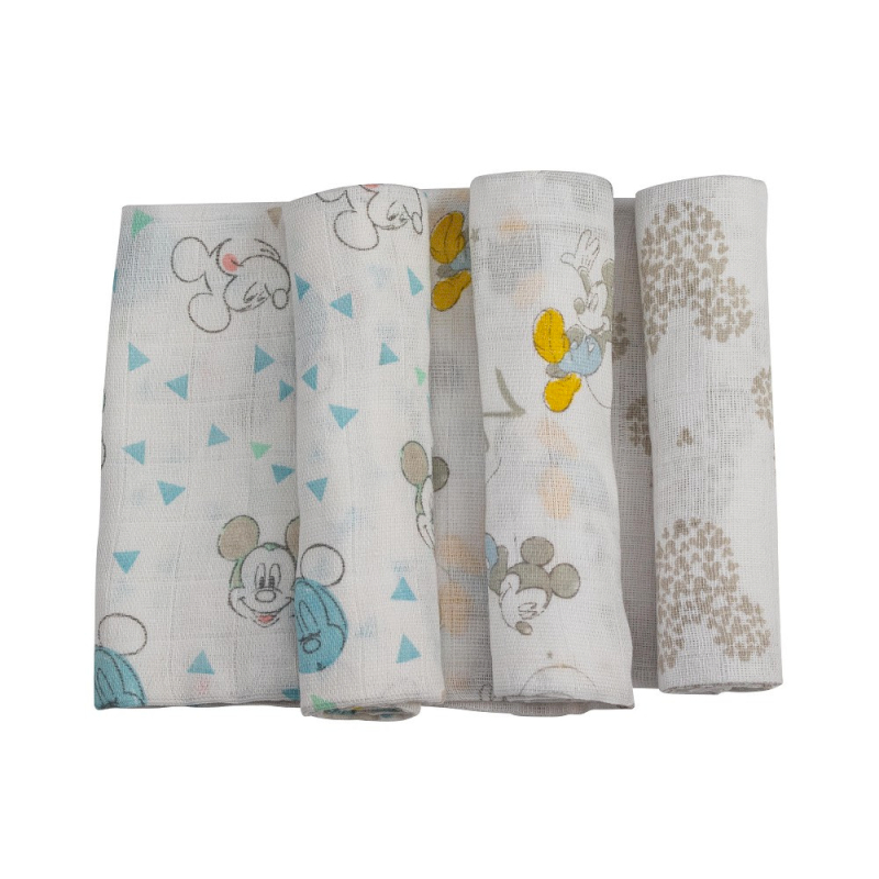 Set 3 Muselina Interbaby Mickey
