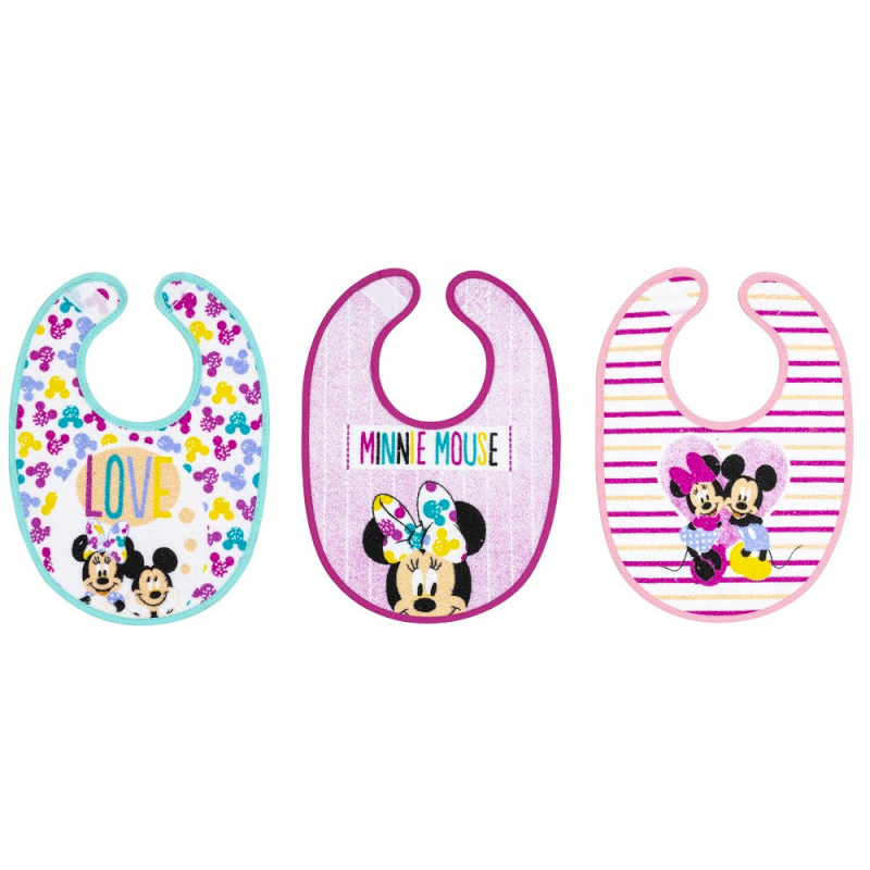 Set 3 Bavaglini Disney Minnie