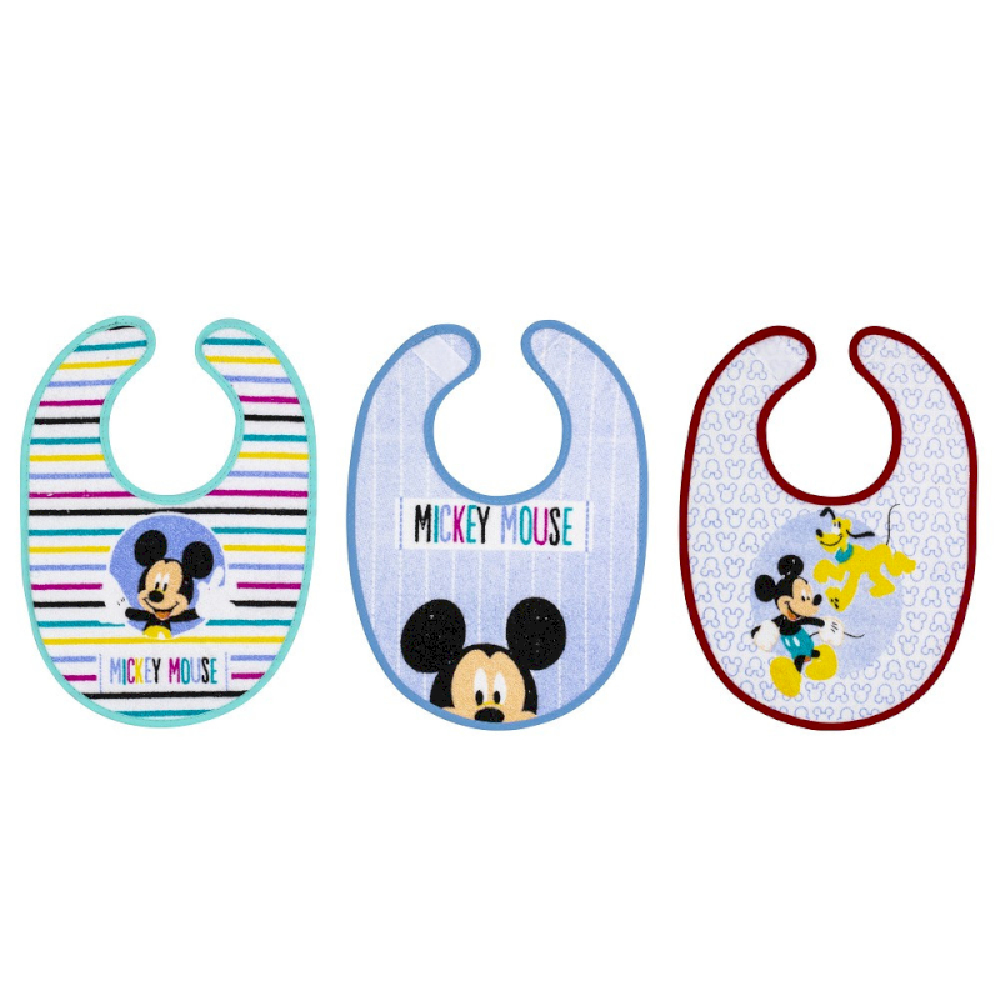3 Disney Lätzchen Mickey
