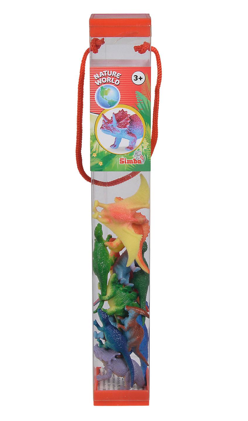 Set Animales en Tubo - Dinosaurios