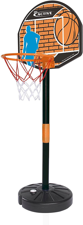 Tabellone Basket con Palla e Piantana