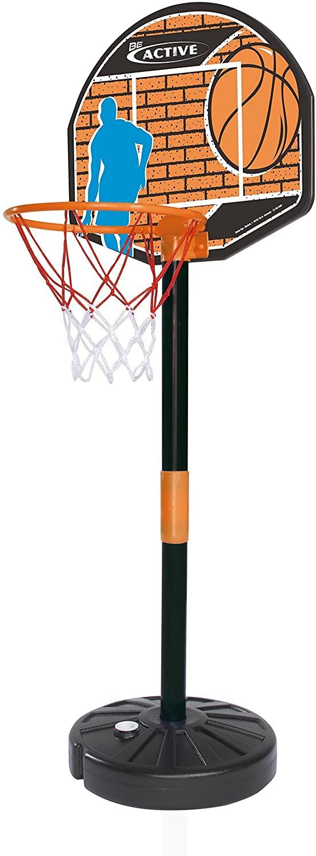 Tablero de baloncesto con Pelota y Estructura