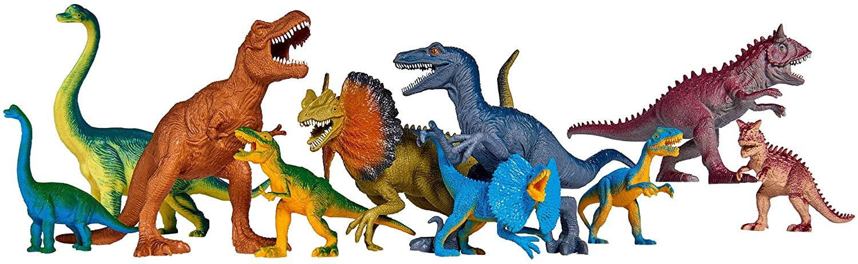 Set Dinosaures - 10 Dinosaures