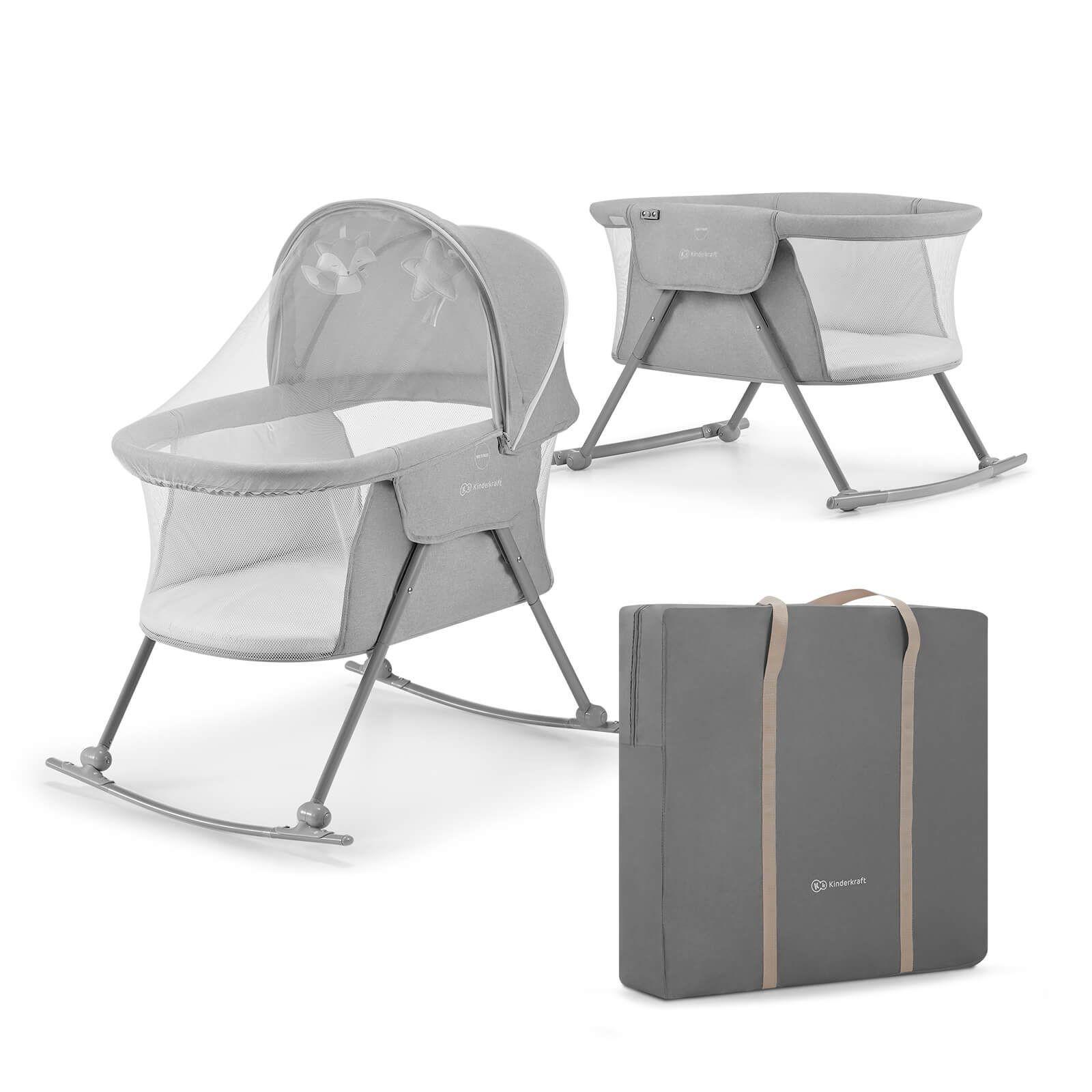 Lit bébé Lovi Kinderkraft 3 en 1 Grey