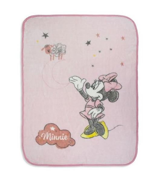 Couverture en Laine Polaire - Disney Minnie