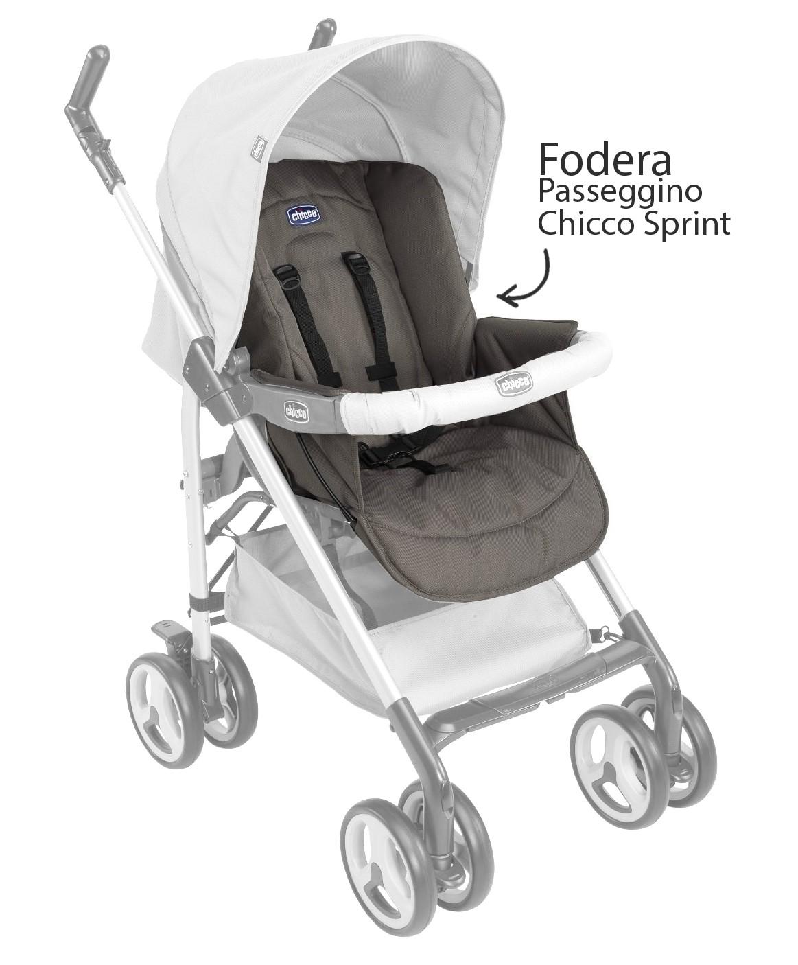 Chicco Kinderwagen Sprint Bezug Dove Grey
