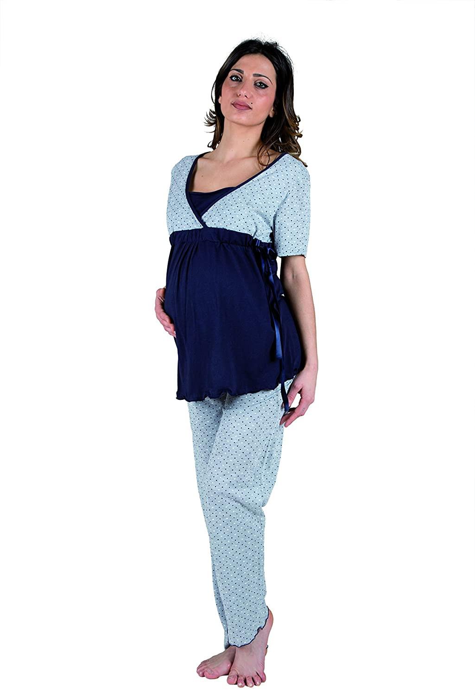 Pyjama avec Noeud - Manches CourteS T4