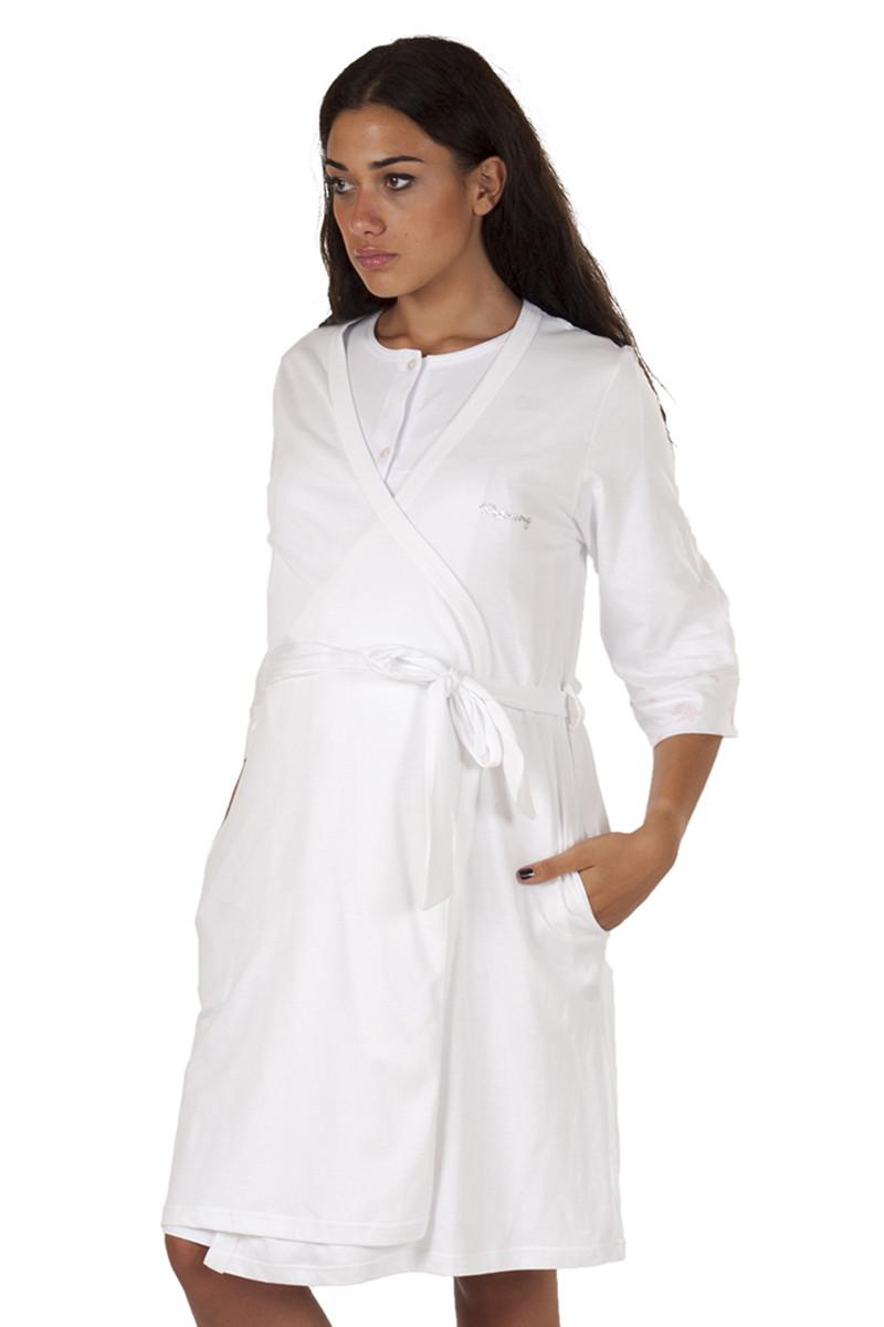 Robe de Chambre 3/4 Blanc T5
