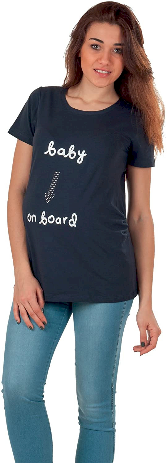 T-shirt Premaman Baby on Board - S/M