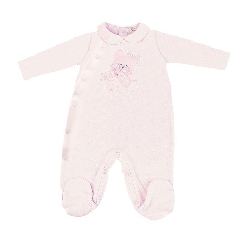 Pyjama Ouvert Étoiles Rose 0-1 mois