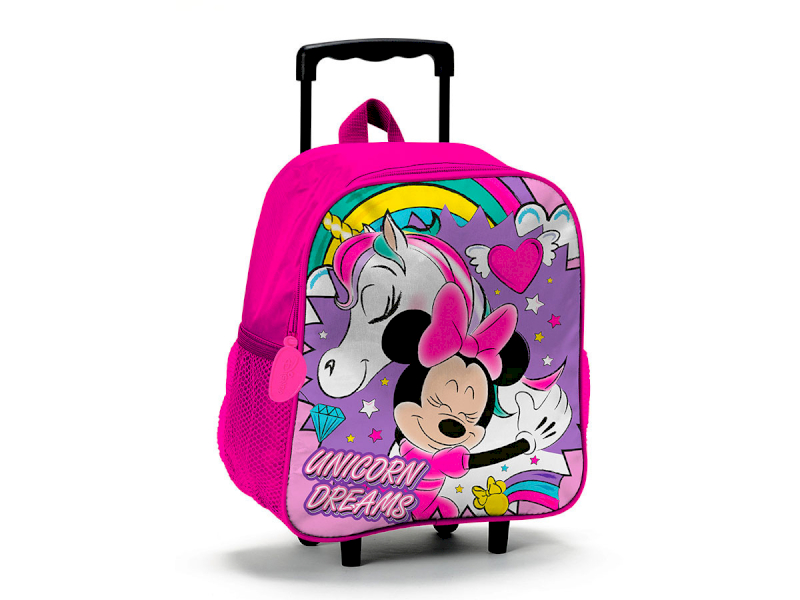 Valise Trolley Minnie Licornes