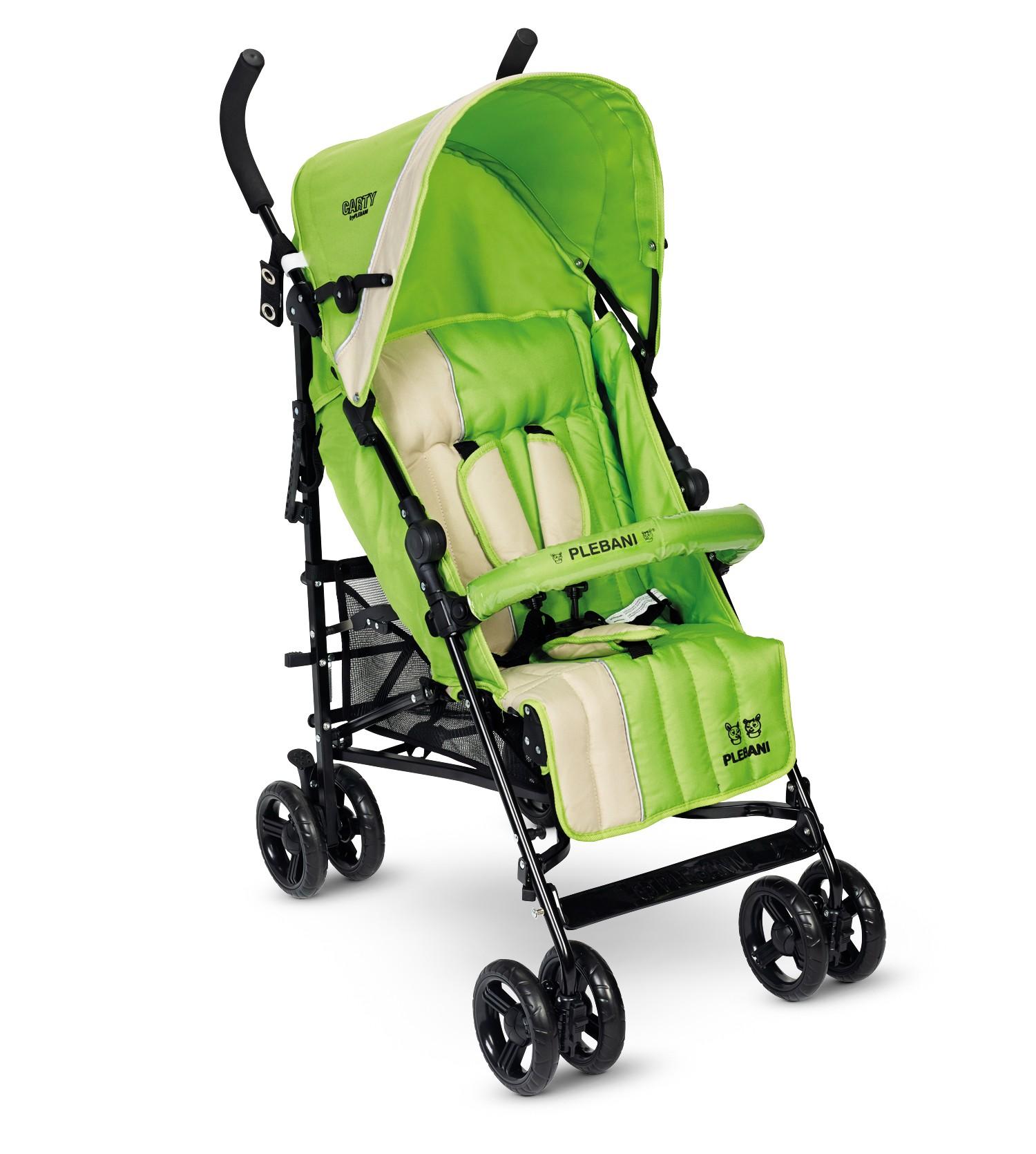 Poussette Carty Plebani Vert