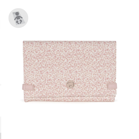 Tapis à langer Flower Mellow Rose