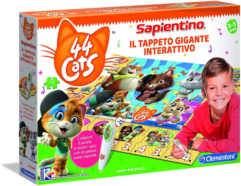 Tappeto Gigante Interattivo 44 Gatti Clementoni