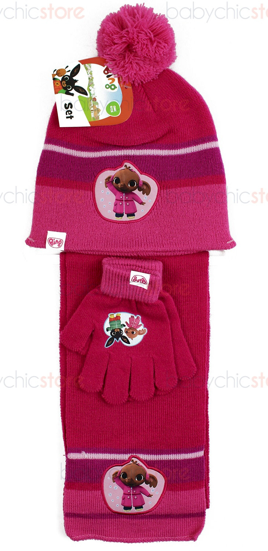 Bing Schal, Mütze und Handschuhe Red