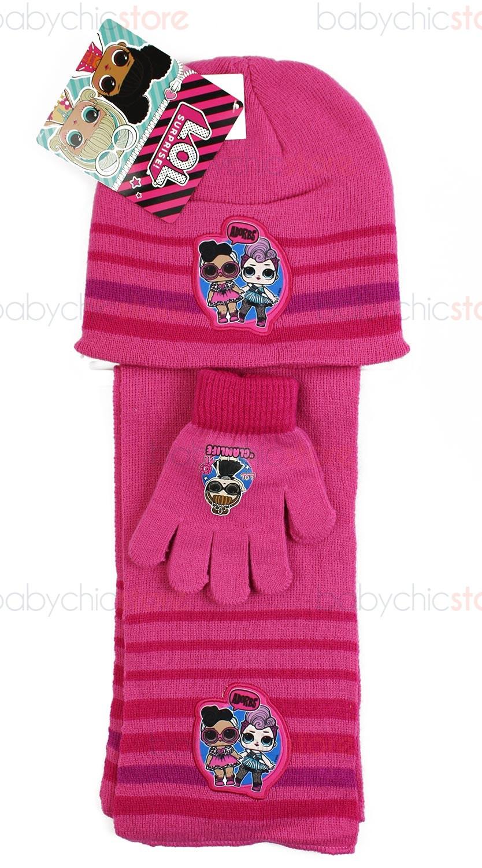 LOL Schal, Mütze und Handschuhe